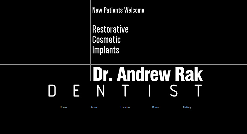 Dr. Andrew Rak website